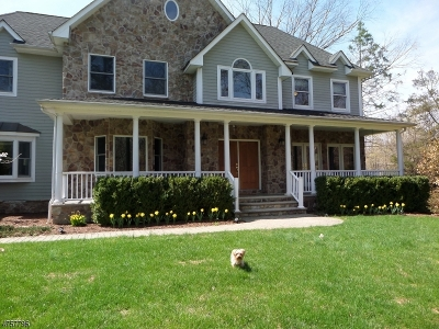 Basking Ridge Single Family Home For Sale: 150 Pond Hill Rd