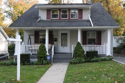 Livingston Twp. Single Family Home For Sale: 45 Lincoln Ave