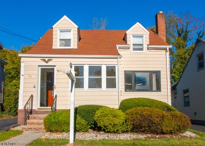 Millburn Twp. Single Family Home For Sale: 33 Rosedale Ave