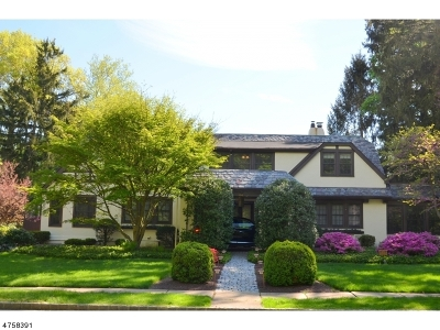 Summit City Single Family Home For Sale: 1 Oakley Ave