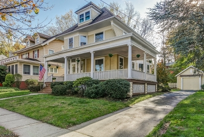 Maplewood Twp. Single Family Home For Sale: 473 Elmwood Ave
