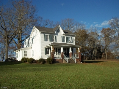 Delaware Twp. Single Family Home For Sale: 338 Old Croton Rd