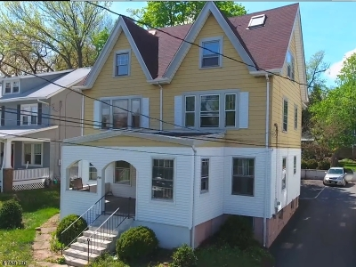 Montclair Twp. Single Family Home For Sale: 296 Grove St
