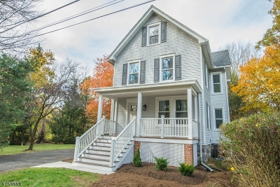 Morris Twp. Single Family Home For Sale: 1 Whitney Ave