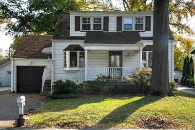 Totowa Boro Single Family Home For Sale: 444 Riverview Dr