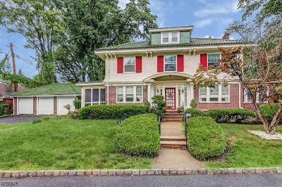 South Orange Village Twp. Single Family Home For Sale: 573 Varsity Road