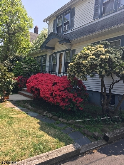 Westfield Town Single Family Home For Sale: 238 Scotch Plains Ave