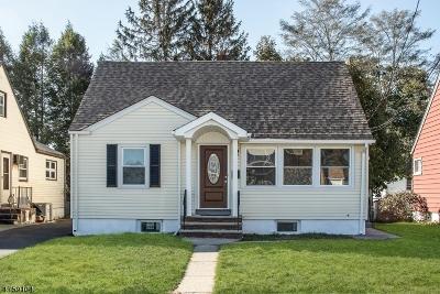 Passaic City Single Family Home For Sale: 51 Ackerson Pl