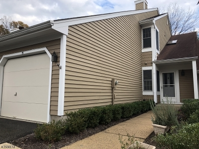 Bedminster Twp. Condo/Townhouse For Sale: 19 Cambridge Rd