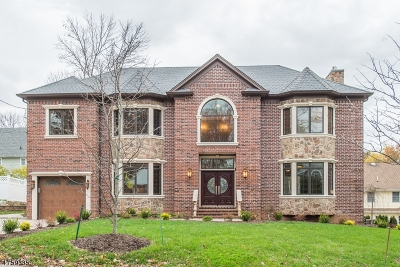 Berkeley Heights Single Family Home For Sale: 206 Washington St