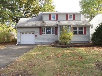 Scotch Plains Twp. NJ Single Family Home For Sale: $240,000