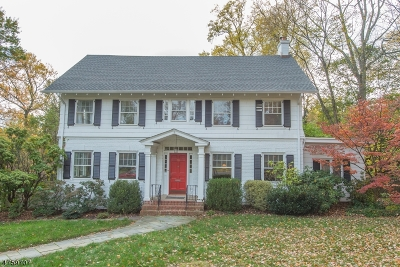 Maplewood Twp. Single Family Home For Sale: 58-60 Euclid Ave