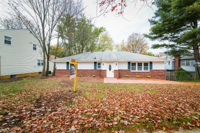 South Orange Village Twp. Single Family Home For Sale: 535 Scotland Rd