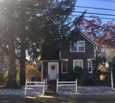 Mendham Boro NJ Single Family Home For Sale: $395,000