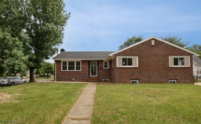 Rahway City Single Family Home For Sale: 473 E Milton Ave