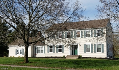 Montgomery Twp. NJ Single Family Home Active Under Contract: $550,000