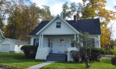 Livingston Twp. Single Family Home For Sale: 14 Intervale Rd