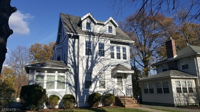 Essex County, Morris County, Union County Multi Family Home For Sale: 165 Lincoln St