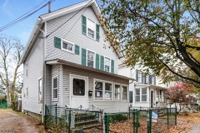 Morristown Town Single Family Home For Sale: 14 Grant St