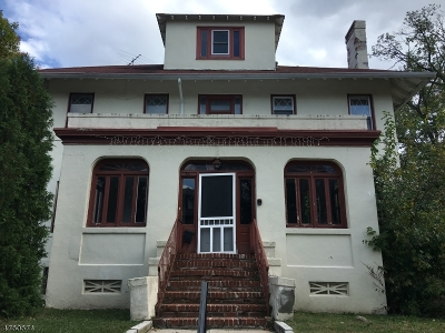 South Orange Village Twp. Single Family Home For Sale: 34 South Center Street