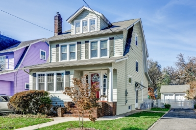Maplewood Twp. Single Family Home For Sale: 75 Hudson Ave
