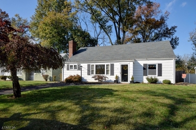 Cranford Twp. Single Family Home For Sale: 10 Heathermeade Place