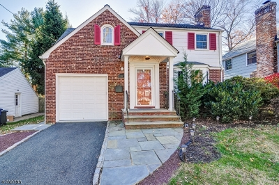 Millburn Twp. Single Family Home For Sale: 18 Meadowbrook Rd