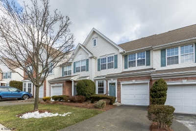 Nutley Twp. Condo/Townhouse For Sale: 103 Cambridge Dr