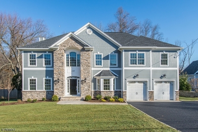 Florham Park Boro Single Family Home For Sale: 128 Crescent Rd