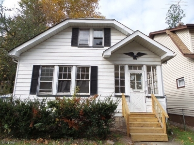 East Orange City NJ Single Family Home For Sale: $50,000