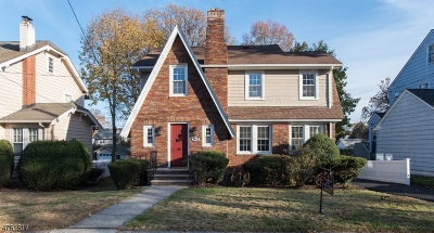 Maplewood Twp. Single Family Home For Sale: 90 Hudson Ave