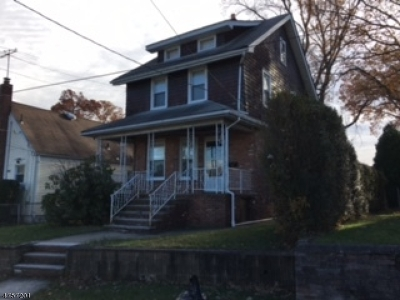 Nutley Twp. Single Family Home For Sale: 63 Conover Ave