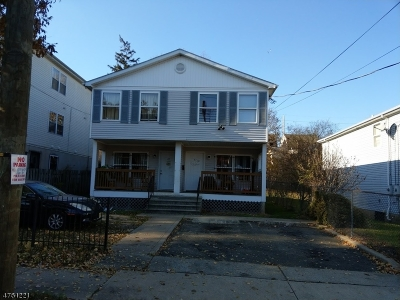 Newark City NJ Multi Family Home For Sale: $240,000