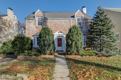 Millburn Twp. Single Family Home For Sale: 15 Rahway Rd