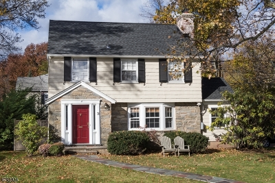Millburn Twp. Single Family Home For Sale: 31 Claremont Dr