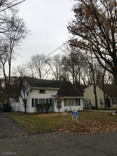 West Orange Twp. Single Family Home For Sale: 39 Hunterdon Rd