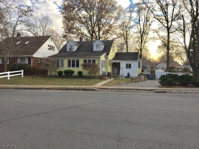 RAHWAY Single Family Home For Sale: 728 Maple Ave