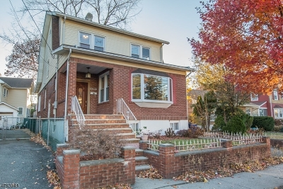 Passaic City Single Family Home For Sale: 465 Brook Ave