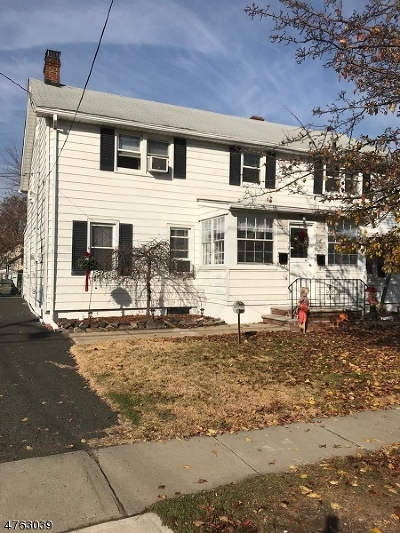 Rahway City NJ Rental For Rent: $1,550