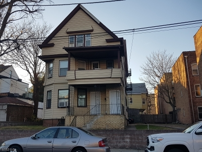 Paterson City Multi Family Home For Sale: 174-178 E 32nd St
