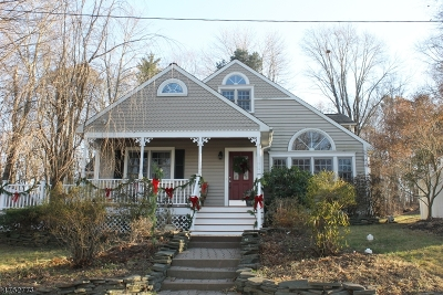 Sparta Twp. Single Family Home Active Under Contract: 7 Byron Pl