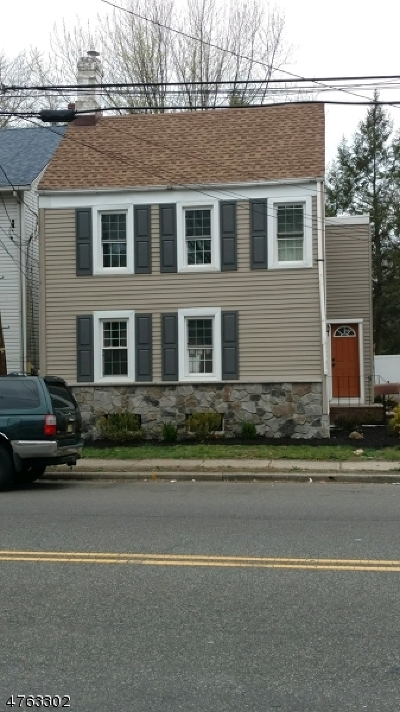 RAHWAY Single Family Home For Sale: 853 Westfield Ave