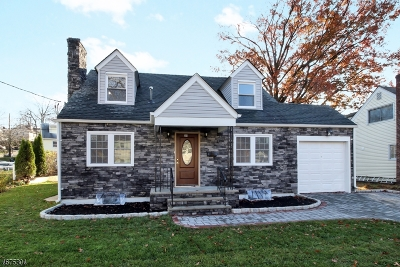 Nutley Twp. Single Family Home For Sale: 384 Bloomfield Ave