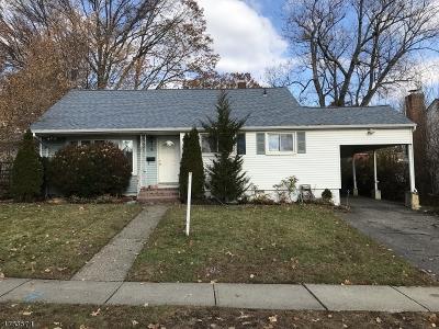 Montclair Twp. Single Family Home For Sale: 6 Homewood Way