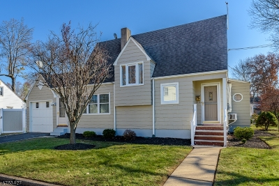 RAHWAY Single Family Home For Sale: 1239 Broadway