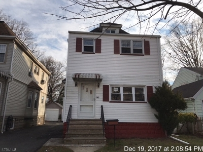 Roselle Park Boro Single Family Home For Sale: 148 E Grant Ave