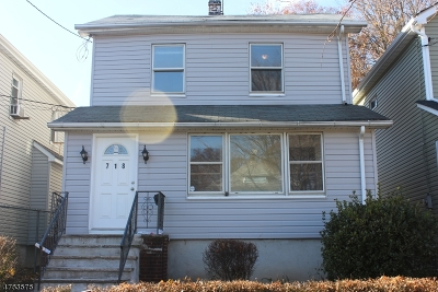 ROSELLE Single Family Home For Sale: 718 Spruce St
