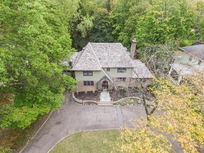 South Orange Village Twp. Single Family Home For Sale: 390 Charlton Ave