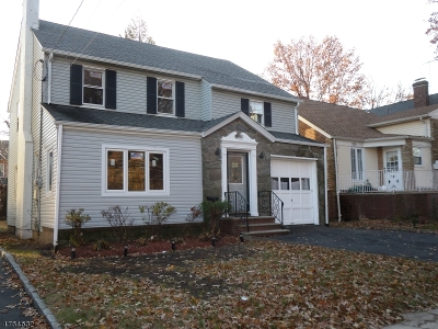 Maplewood Twp. Single Family Home For Sale: 626 Irvington Ave