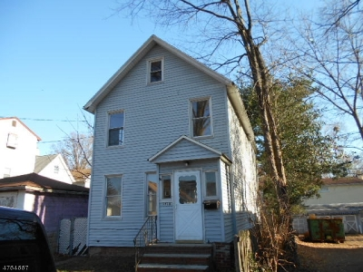 RAHWAY Single Family Home For Sale: 1513 Church St